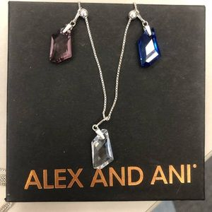 Alex and Ani Chain Station Necklace